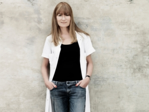 Portræt af Bente Klarlund Pedersen